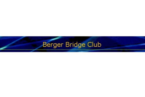 Berger Bridge Club